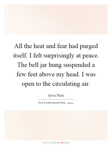 the bell jar themes quotes all the heat and fear had purged itself i felt