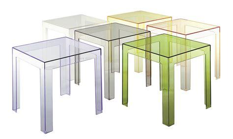 kartell tavoli trasparenti noleggio arredi per bambini tavolini kartell jolly
