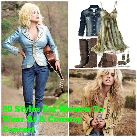 country concert style country concert for 20 styles to try