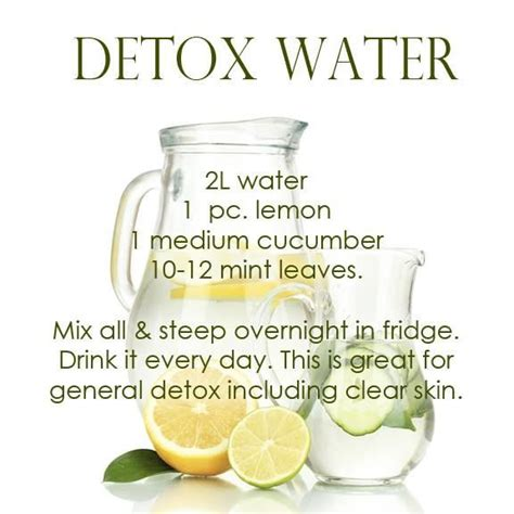 Does Detox Water Help Clear Skin by Detox Water Recipe Pictures Photos And Images For