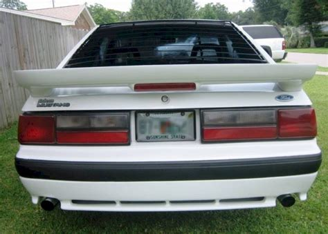 1987 mustang saleen oxford white 1987 saleen ford mustang hatchback