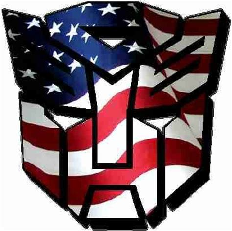 Wall Sticker Height Chart comic decals and cartoon decals american flag autobot