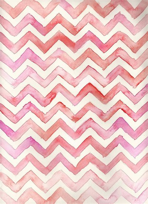 pink pattern background tumblr watercolor chevron pink pattern fondos pinterest
