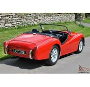 1954 TRIUMPH TR2 CHASSIS UP REBUILD UK CAR PRE TR3 TR4 TR5