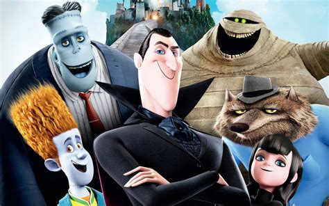 hotel transylvania watch trailer swoops in for hotel transylvania 2