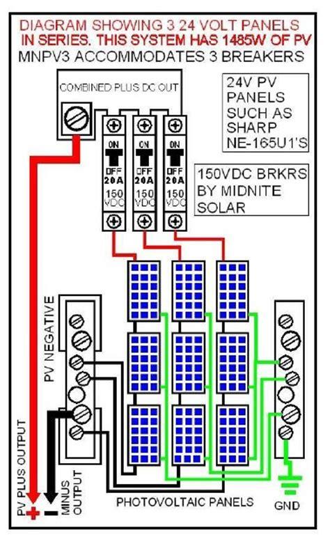 midnite solar combiner box mnpv3