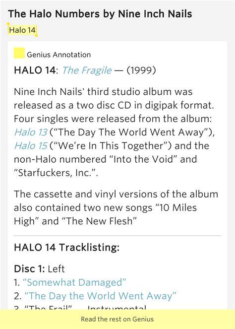 halo lyrics halo 14 the halo numbers lyrics meaning