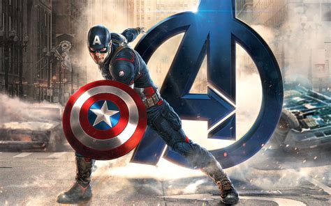 dual monitor wallpaper captain america captain america avengers wallpapers wallpapers hd