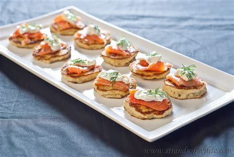 Home Workshop Plans by Blinis With Salmon And Sour Cream Gluten Free And Low