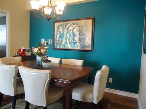 accent wall in dining room dining room accent wall ideas for color combination