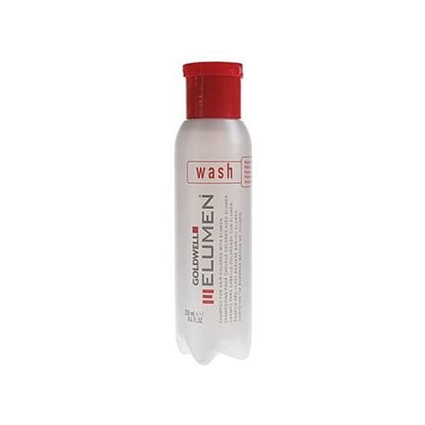 Shoo Goldwell goldwell elumen color care products hair color goldwell elumen wash shoo for hair colored with
