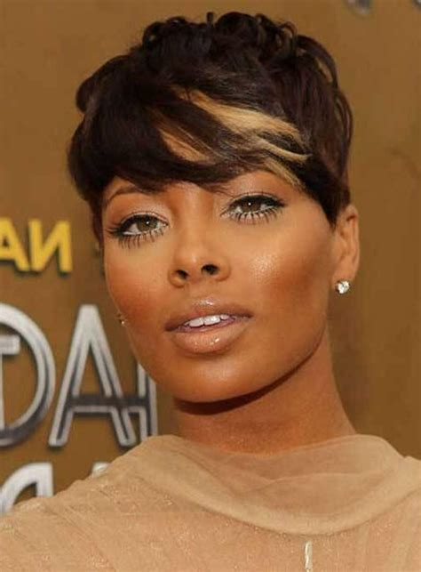 hairstyles for african american women with round face 15 best ideas of short hairstyles for black round faces