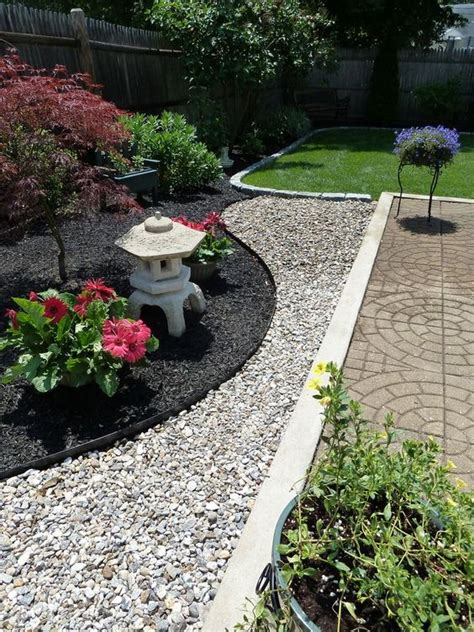 black landscaping stunning black mulch landscaping ideas you must see