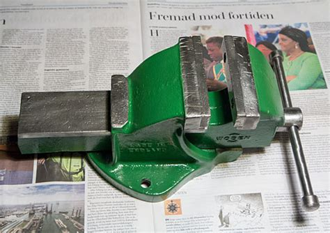 bench vise restoration restoration of an old english bench vise
