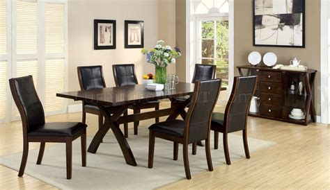 cm3339t toronto dining table in oak w optional items