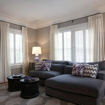 grey and lavender living room gray and purple living room contemporary living room purple design