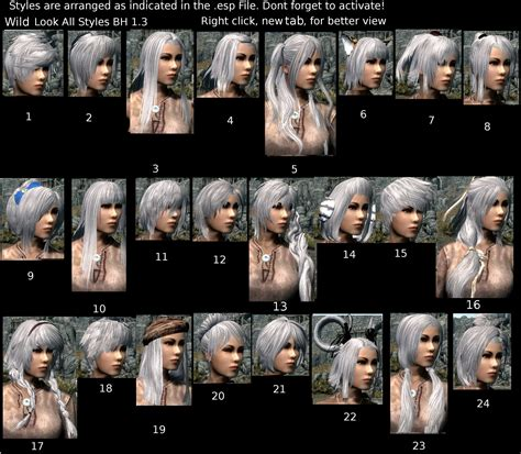 skyrim hair mods beautiful hair retexture at skyrim nexus mods and community