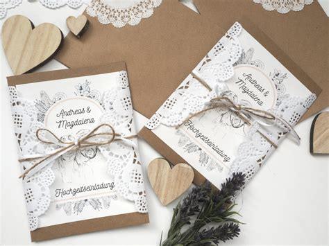 Hochzeitseinladung Winter by Hochzeits Diy Hochzeitseinladungen Im Vintagestil