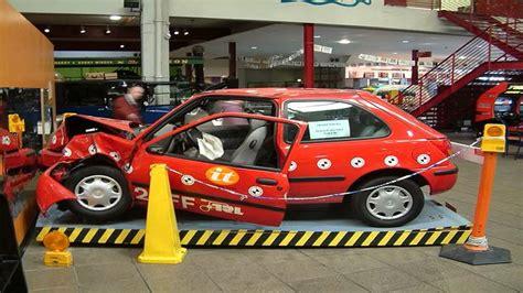 car crash in motion test dummy car crash in motion 10 000fps 2014