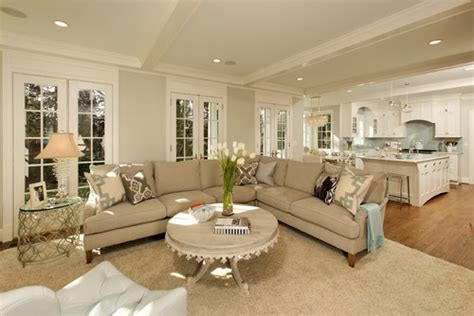 Houzz Living Room Color Schemes Choosing The Right Gray Paint The Well Appointed House