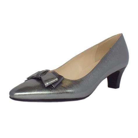 kaiser edeltraud s mid heel court shoes