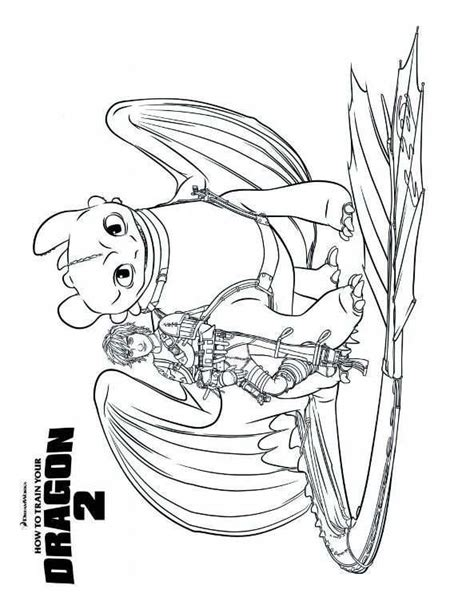 Ausmalbild Drachenz 228 Hmen Leicht Gemacht 2 Hiccup How To Your Coloring Pages Toothless