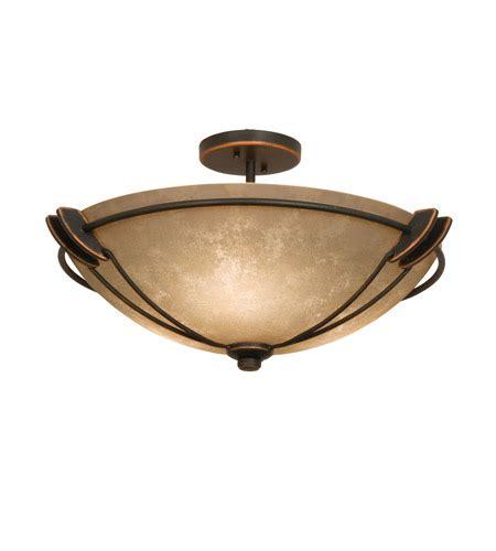 copper semi flush light kalco 4848ac g3132 grande 3 light 22 inch antique copper