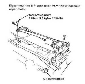 how to replace 2000 acura integra rear wiper motor 96 accord wiper problem honda tech honda forum discussion