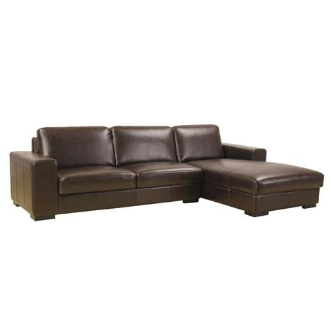 leather sofa sectional modern full leather sectional sofa s3net sectional