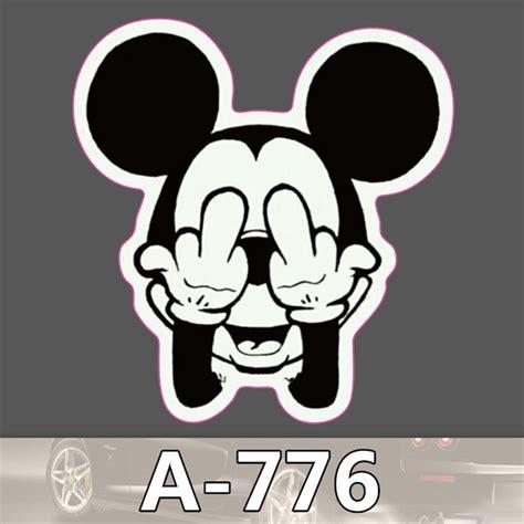 Stiker Label Nama Waterproof Mickey Minnie Mouse Sticker Anti Air sticker mickey mouse reviews shopping sticker mickey mouse reviews on aliexpress