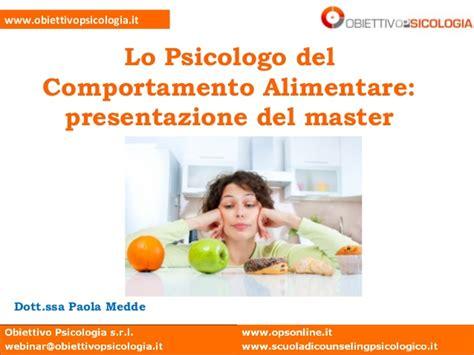 psicologo alimentare lo psicologo comportamento alimentare presentazione