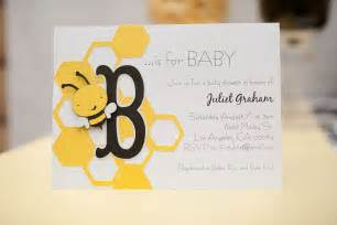 bee baby shower invitations set of 10 bumble by emtsweeetie