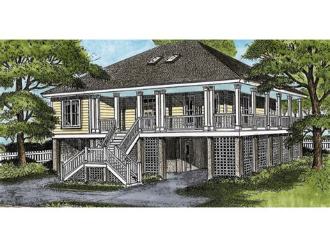 lowcountry house plans wellsley raised lowcountry home plan 081d 0039 house