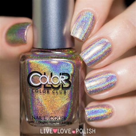 color club holographic nail 1000 ideas about color club on holographic