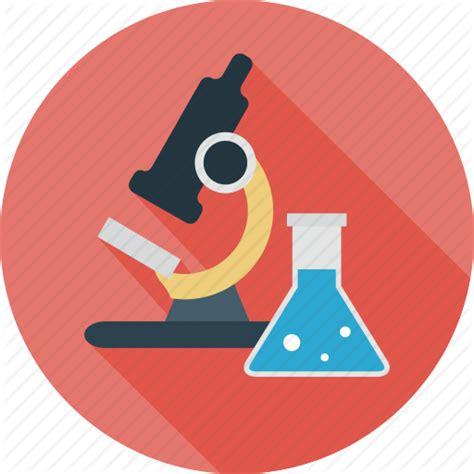 icon design lab lab microscope research science testing icon icon