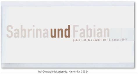 Hochzeitseinladungen Schlicht Modern by Schlicht Hochzeitskarten