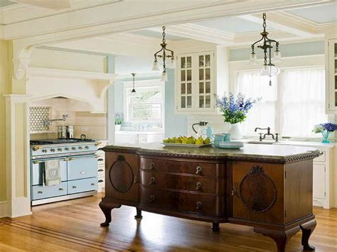 repurposed kitchen island repurposed antique buffet island kitchen for the home