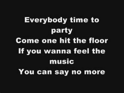 big ali hit the floor lyrics youtube