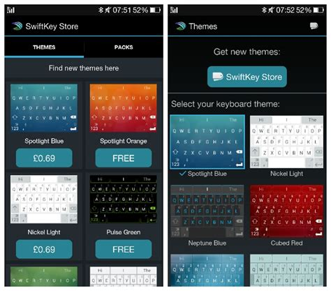 swiftkey keyboard themes download swiftkey keyboard for android gets a theme store