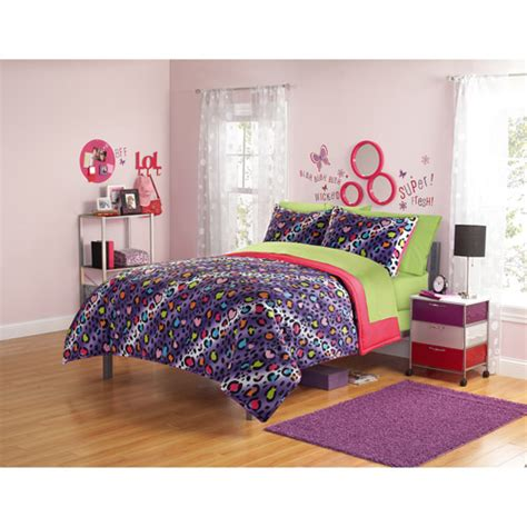 your zone bedding comforter set cheetah kids rooms