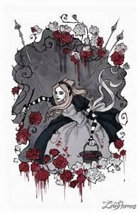 painting roses red irenhorrors deviantart