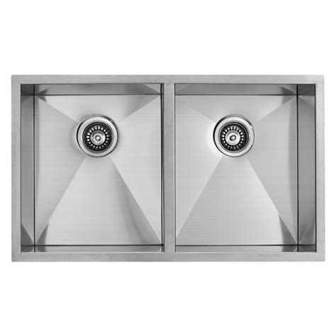 32 Inch Undermount Kitchen Sink Vigo Industries Vigo 32 Inch Undermount Stainless Steel 16 Bowl Kitchen Sink