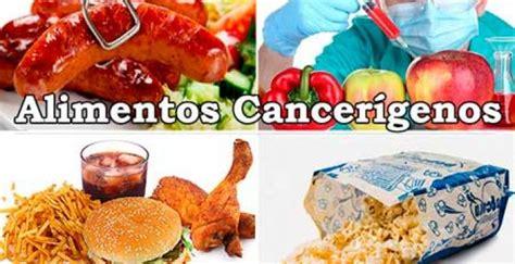 alimentos cancerigenos toda la informaci 243 n sobre alimentaci 243 n nutrici 243 n sana y