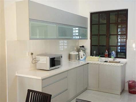 membuat kitchen set minimalis sendiri model kitchen set aluminium dapur minimalis idaman
