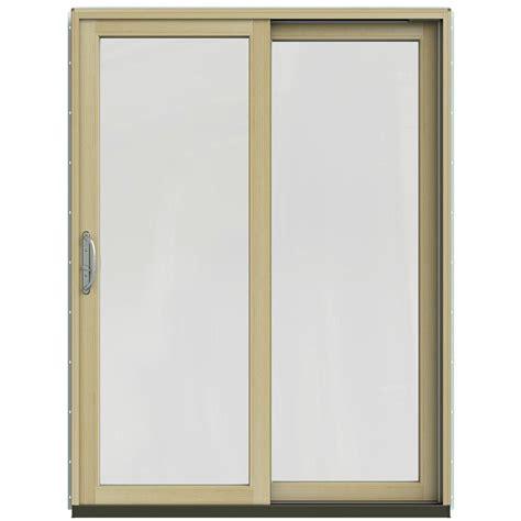 jeld wen patio doors reviews jeld wen 59 1 4 in x 79 1 2 in w 2500 chocolate