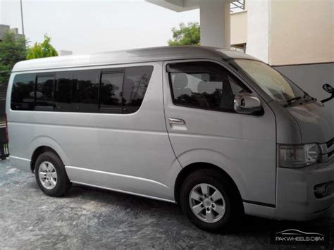 Toyota Hiace For Sale Used Toyota Hiace Gl 2009 Car For Sale In Lahore 787082