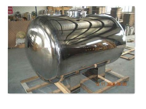 stainless steel diesel fuel storage tank