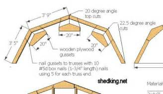 187 truss plans for shed pdf storage shed workshop