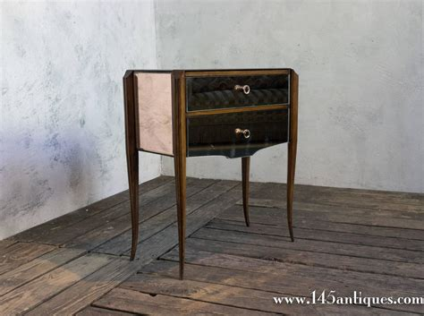 Mirror Nightstand For Sale 1940s mirrored nightstand for sale at 1stdibs