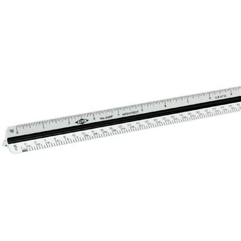 Alvin 40mts Architects Scale Ruler by Save On Discount Alvin 12 In Architect Triangular Scale